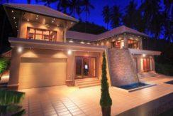 Villa vue mer à Bang Por Koh Samui à vendre