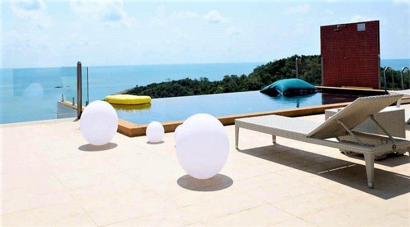 Villa vue mer à vendre à Choeng Mon Koh Samui 010