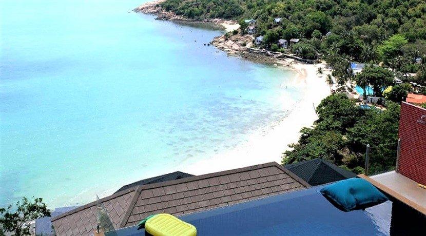 Villa vue mer à vendre à Choeng Mon Koh Samui 011