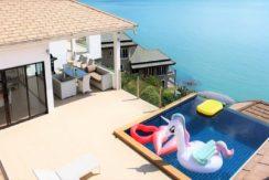 Villa vue mer à vendre à Choeng Mon Koh Samui 012