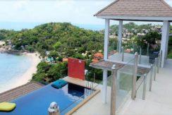 Villa vue mer à vendre à Choeng Mon Koh Samui 013