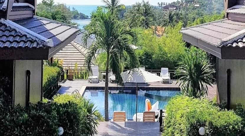 A vendre propriété à Choeng Mon Koh Samui – 7 villas avec piscine