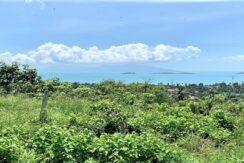A vendre terrain à Bangrak Koh Samui vue mer