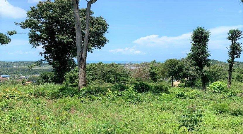 A vendre terrain à Bangrak Koh Samui vue mer 04