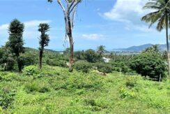 A vendre terrain à Bangrak Koh Samui vue mer 05