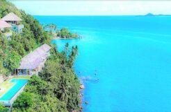 A vendre villa bord de mer Laem Sor à Koh Samui