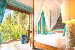 A vendre villa bord de mer à Lipa Noi Koh Samui 010