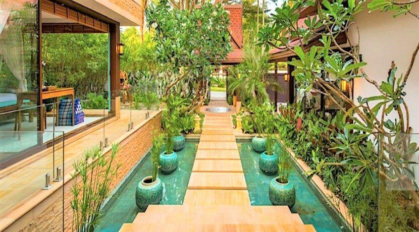 A vendre villa bord de mer à Lipa Noi Koh Samui 014