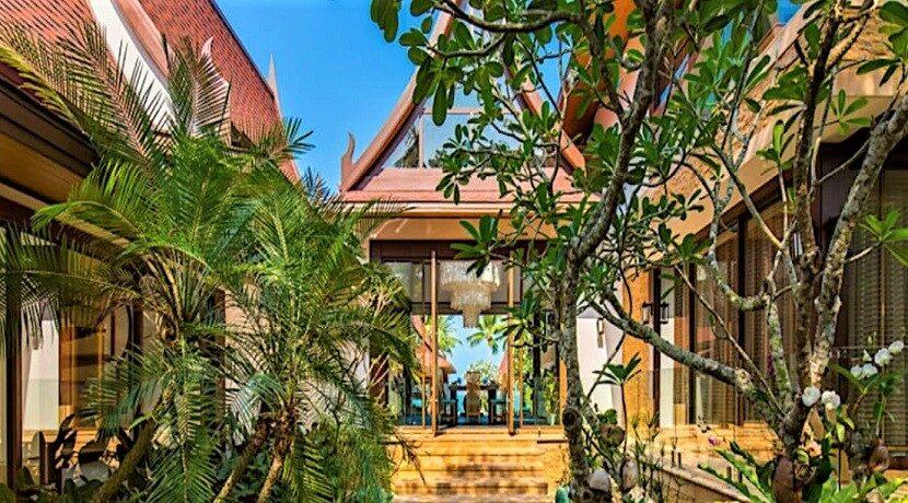 A vendre villa bord de mer à Lipa Noi Koh Samui 015