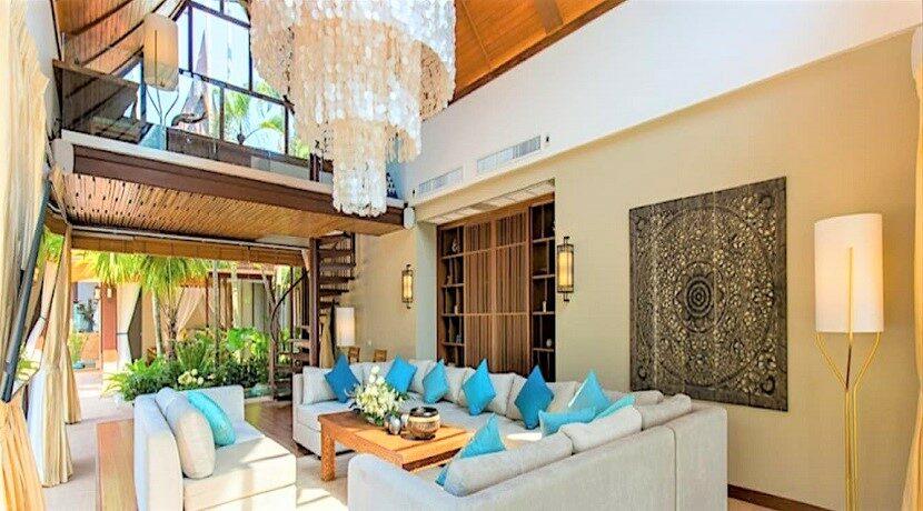 A vendre villa bord de mer à Lipa Noi Koh Samui 02