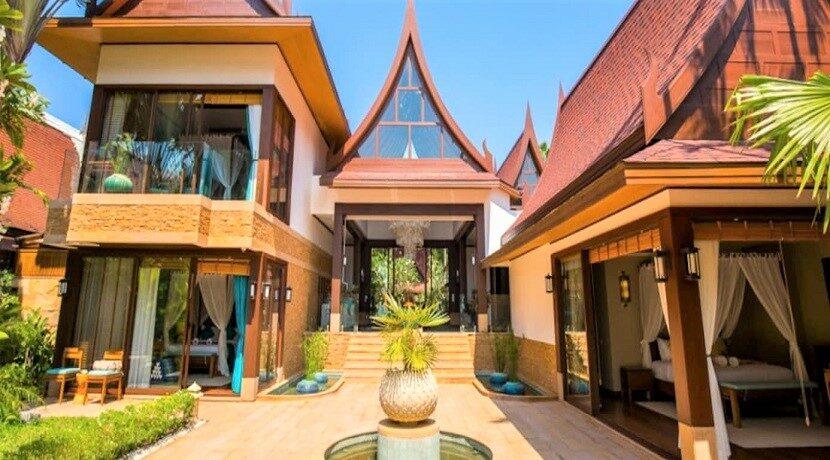 A vendre villa bord de mer à Lipa Noi Koh Samui 04