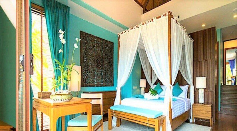 A vendre villa bord de mer à Lipa Noi Koh Samui 07