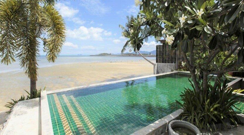 Villa bord de mer à vendre à Plai Laem Koh Samui 01