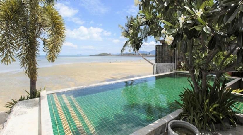 Villa bord de mer à vendre à Plai Laem Koh Samui – 2 chambres – piscine