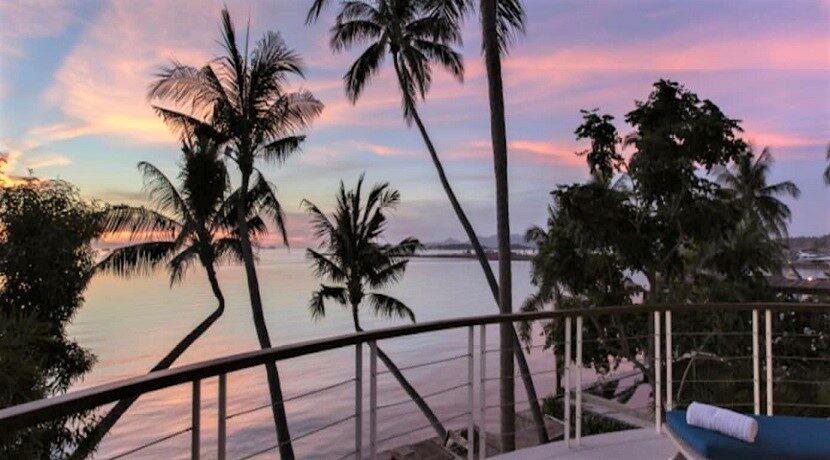 Villa bord de mer à vendre à Plai Laem Koh Samui 014