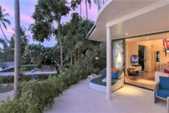Villa bord de mer à vendre à Plai Laem Koh Samui 015