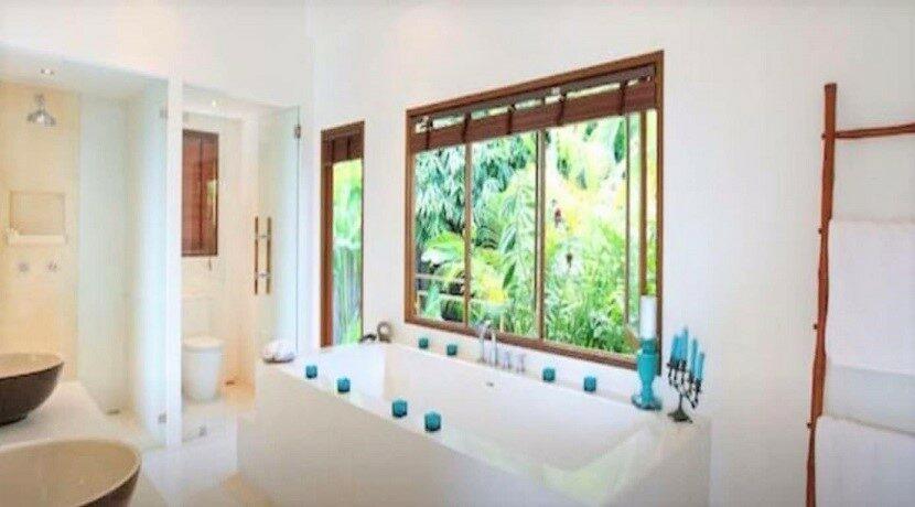 Villa vue mer à Bophut Koh Samui à vendre 012