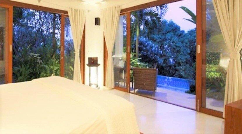 Villa vue mer à Bophut Koh Samui à vendre 014