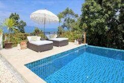 Villa vue mer à Bophut Koh Samui à vendre 022