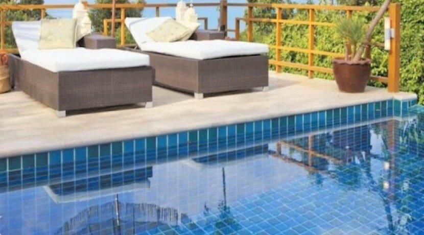 Villa vue mer à Bophut Koh Samui à vendre 023