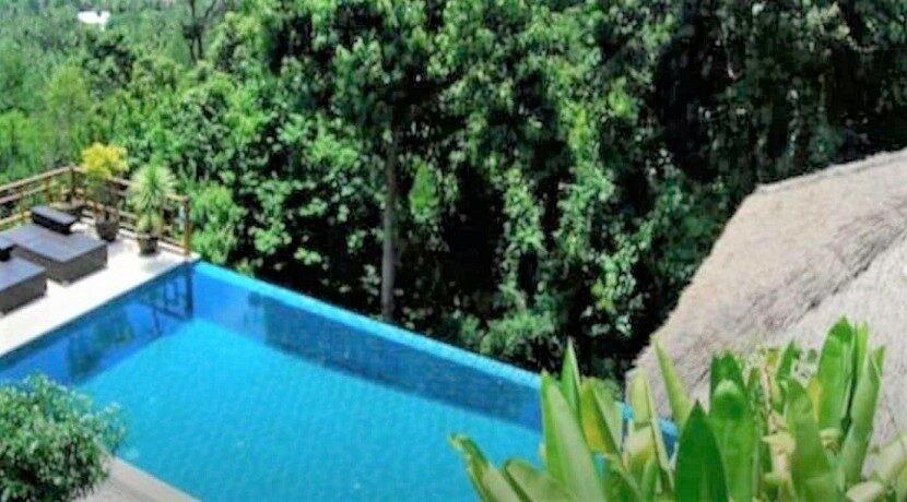 Villa vue mer à Bophut Koh Samui à vendre 024