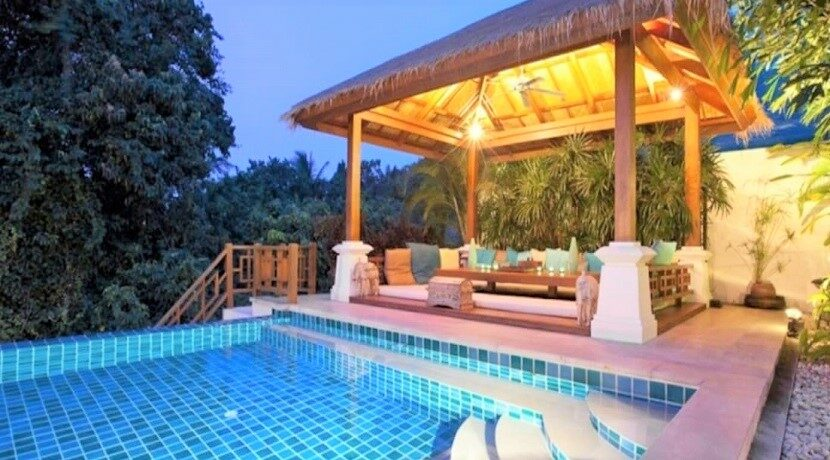 Villa vue mer à Bophut Koh Samui à vendre 027