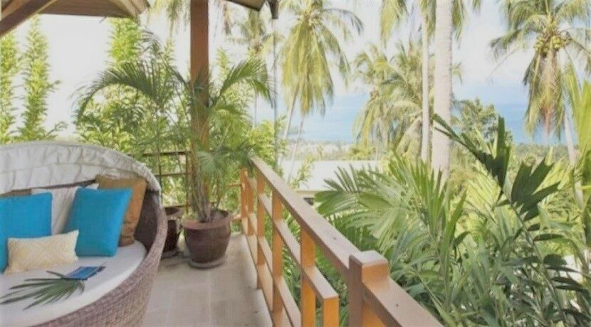Villa vue mer à Bophut Koh Samui à vendre 04C