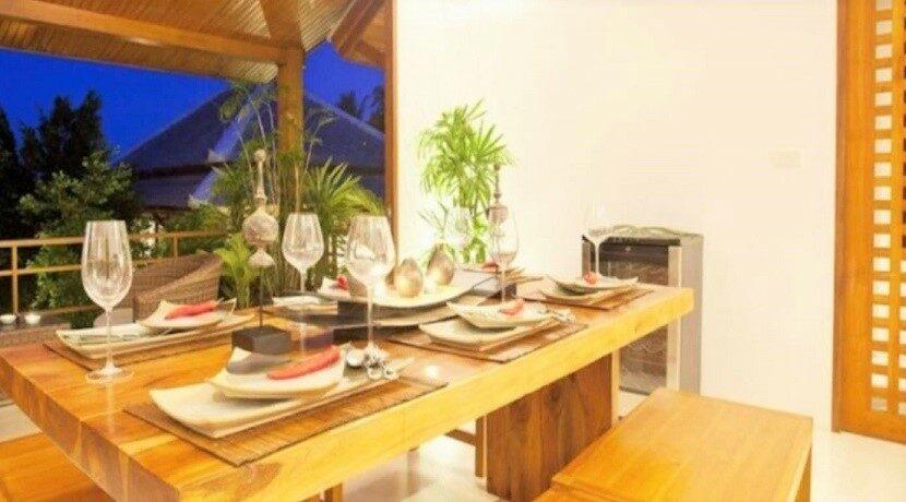 Villa vue mer à Bophut Koh Samui à vendre 06