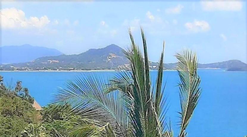 A vendre Terrain Coral Cove Beach – Koh Samui – vue mer – Chanote