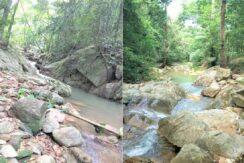 A vendre terrain avec cascade à Maenam Koh Samui 03