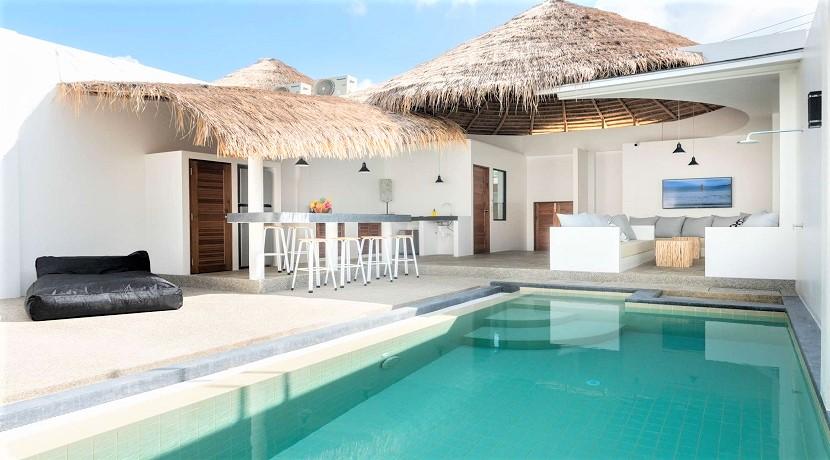 Villas modernes à Bophut Koh Samui – 3 chambres – piscine – à vendre
