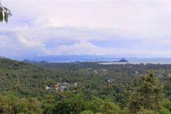 A vendre terrain vue mer Nathon à Koh Samui