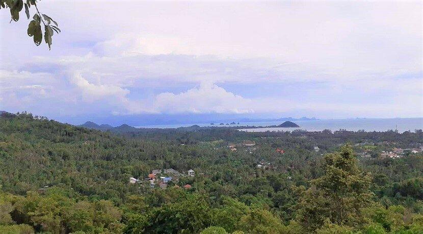 A vendre terrain vue mer Nathon à Koh Samui 01