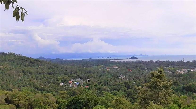 A vendre terrain vue mer Nathon à Koh Samui – 5 x 1600 m² disponibles