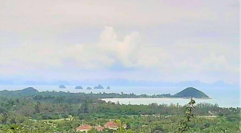 A vendre terrain vue mer Nathon à Koh Samui 04