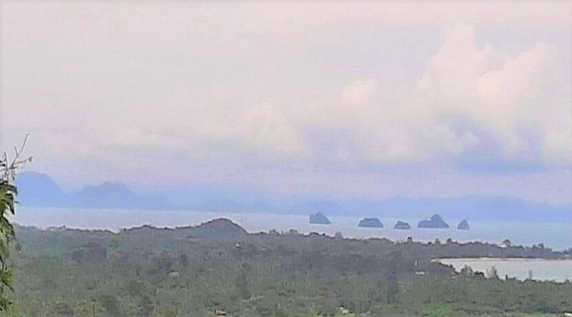 A vendre terrain vue mer Nathon à Koh Samui 05