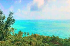 Chaweng Noi terrain vue mer à vendre à Koh Samui