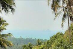 Taling Ngam terrain vue mer à vendre à Koh Samui