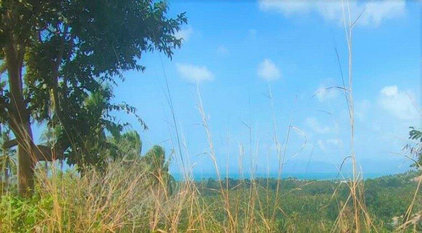 Terrain vue mer à Maenam Koh Samui à vendre 02