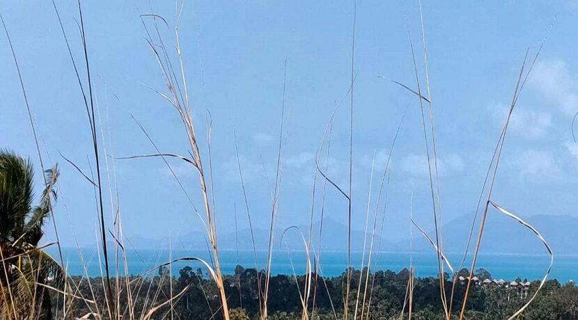 Terrain vue mer à Maenam Koh Samui à vendre 03