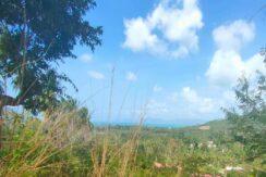 Terrain vue mer à Maenam Koh Samui à vendre 04