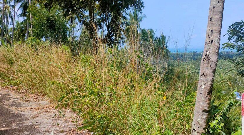 Terrain vue mer à Maenam Koh Samui à vendre 07