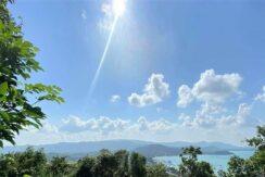 Terrain vue mer constructible à vendre à Bangrak Koh Samui 03