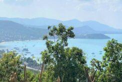 Terrain vue mer constructible à vendre à Bangrak Koh Samui 07