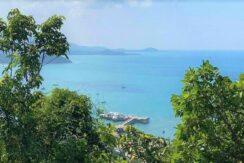 Terrain vue mer constructible à vendre à Bangrak Koh Samui 09