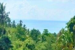 Vente terrain vue mer Lamai Koh Samui