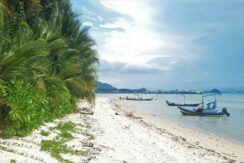 A vendre terrain bord de mer Bang Makham - Koh Samui