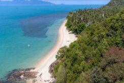 Terrain bord de mer Ban Tai à Koh Samui à vendre