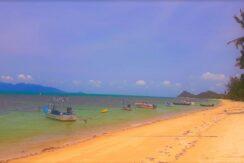 Terrain bord de mer Bang Por à Koh Samui à vendre