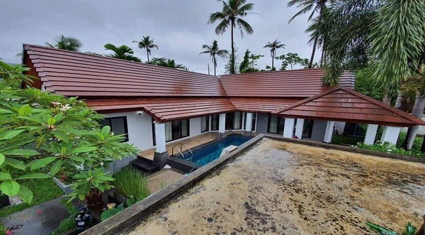 A vendre villa 2 chambres à Maenam Koh Samui 02